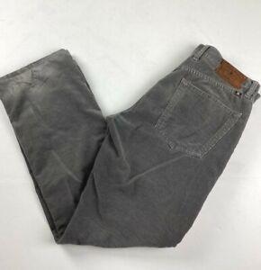 Lucky Brand Gris Pantalones De Pana Para Hombre Talla 30 X 30 Ebay