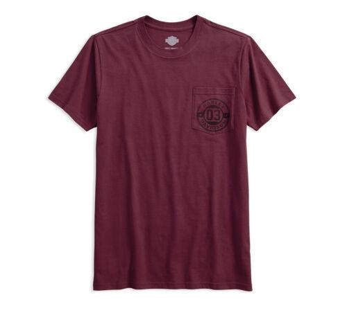 Harley-Davidson® Men/'s Circle 03 Pocket Slim Fit T-Shirt 96454-18VM