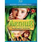 Arthur The Invisibles 2 3 Minimoy Adventur Blu Ray Region 1