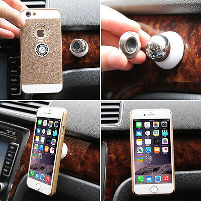 Universal Car Mount Sticky Magnetic GPS Stand Holder For iPhone 6 Plus & Phone