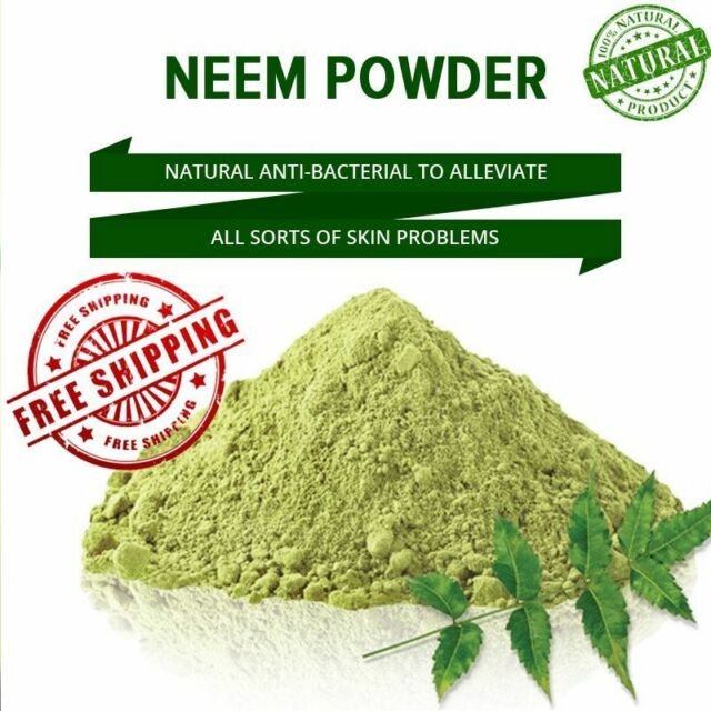 Neem Powder - 100% Organic & Chemical Free Skin Cleanser.