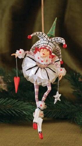 New! JOKER OF HEARTS ornament Krinkles CUTE Patience Brewster  JOSIE
