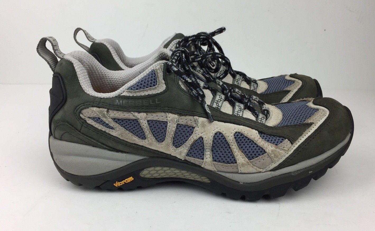 Merrell Siren Ventilator Shoes Women's Hiking  Athletic Trail Multi-Color Sz 7 M