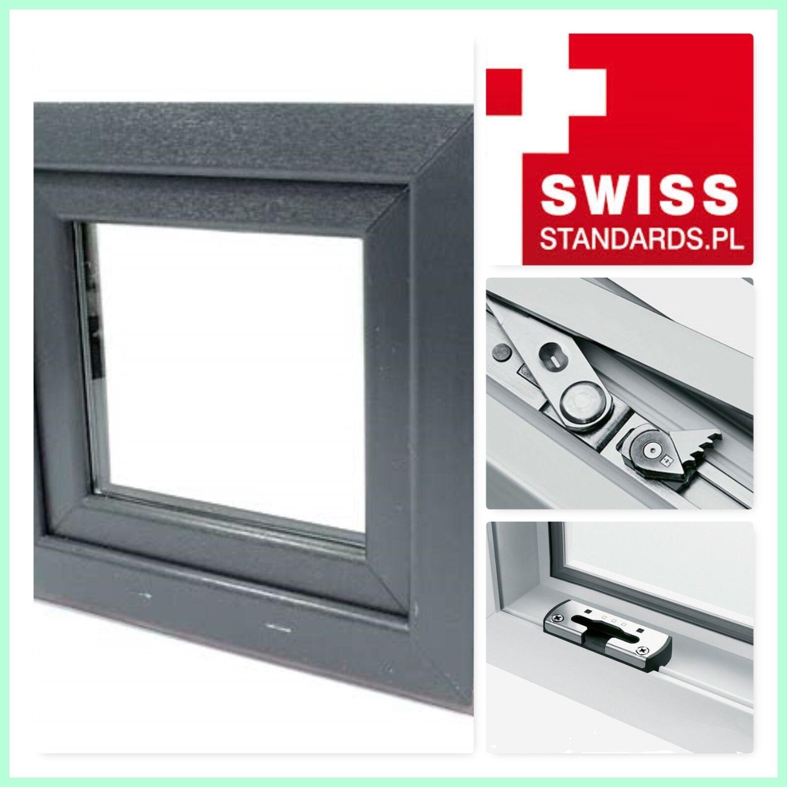 Avantgarde 7000 Fenster 1 Flg.  Anthrazitgrau / Weiß