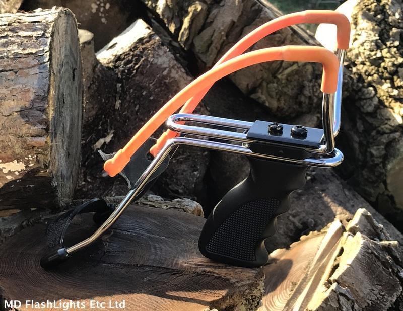 Milbro Milbro Milbro Deluxe Réglable Poignée de pistolet lance-pierre Chasse Bushcraft Survie cfd4c1