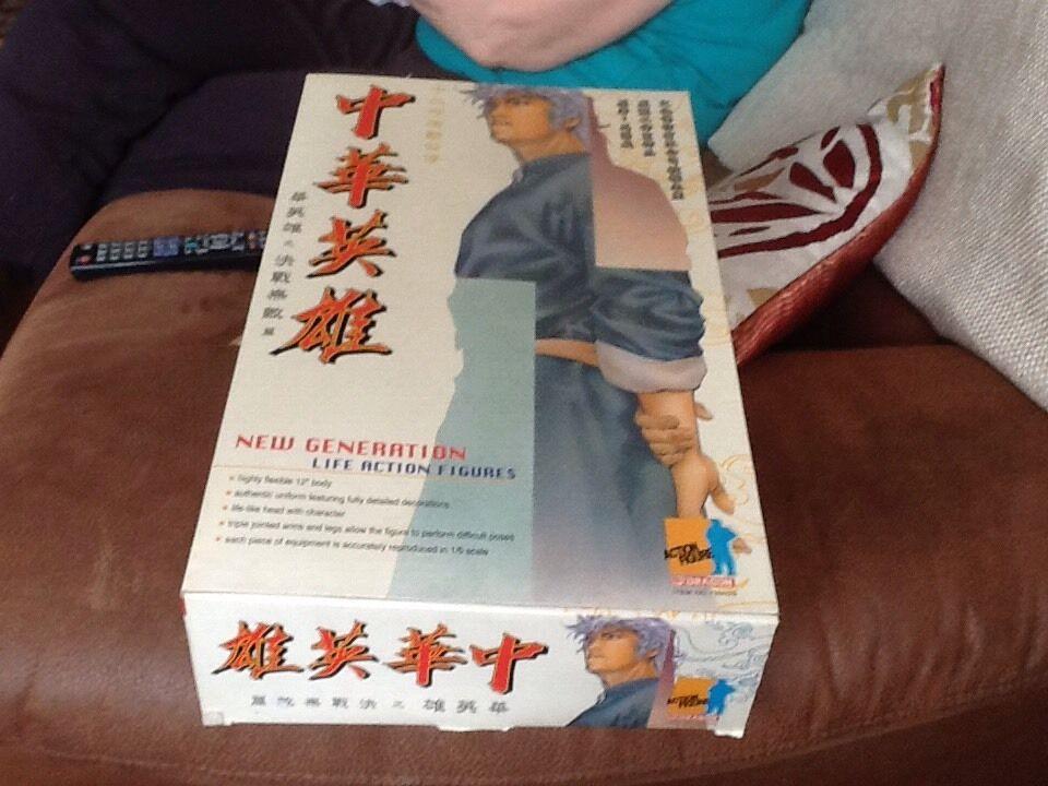 Drachen - actionfigur orientalischen held neue generation 12  umzingelt
