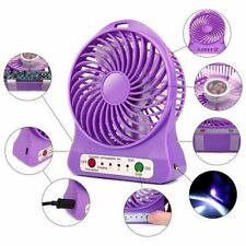 Multi Functional Rechargeable Fan with 3 Speed Mode