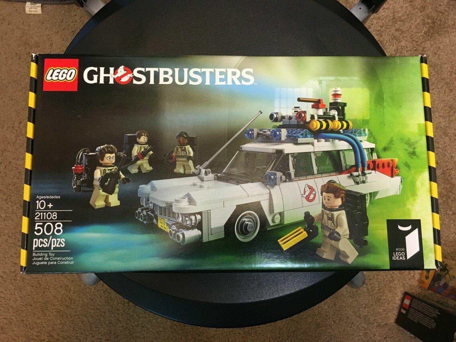 LEGO 21108 Cuusoo 006 Ideas Ghostautobusters Ecto-1     nuovo sealed scatola  le migliori marche vendono a buon mercato