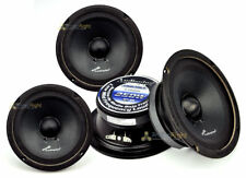 "4 Audiopipe APMB-6SB-C Two Pair 6-6.5"" Sealed Back Full Range Loud Speaker Mid"