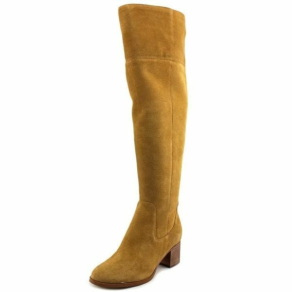Marc Fisher Escape Damenschuhe Round Toe Suede Braun Over the Knee Boot NWOB