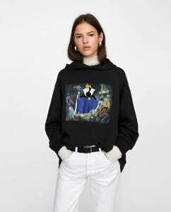Taille Gris Anthracite à Neige S Blanche Zara Disney Sweat Capuche Yq8w81