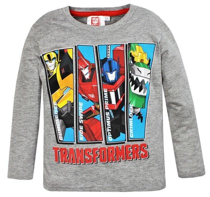 Geschenk Optimus Prime Ark Power Transformers Langarmshirts Pulli Oberteil f/ür Junge in Gr/ö/ße 110 116 122 128 134 140 146 f/ür 3 4 5 6 7 8 9 10 Jahre Baumwolle