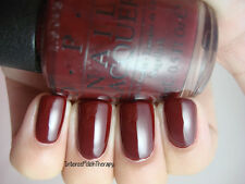 NEW! OPI NAIL POLISH Nail Lacquer in GOT THE BLUES FOR RED ~ Melodious blue-red