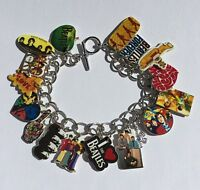 Beatles Bracelet Yellow Sub Music Band Charms