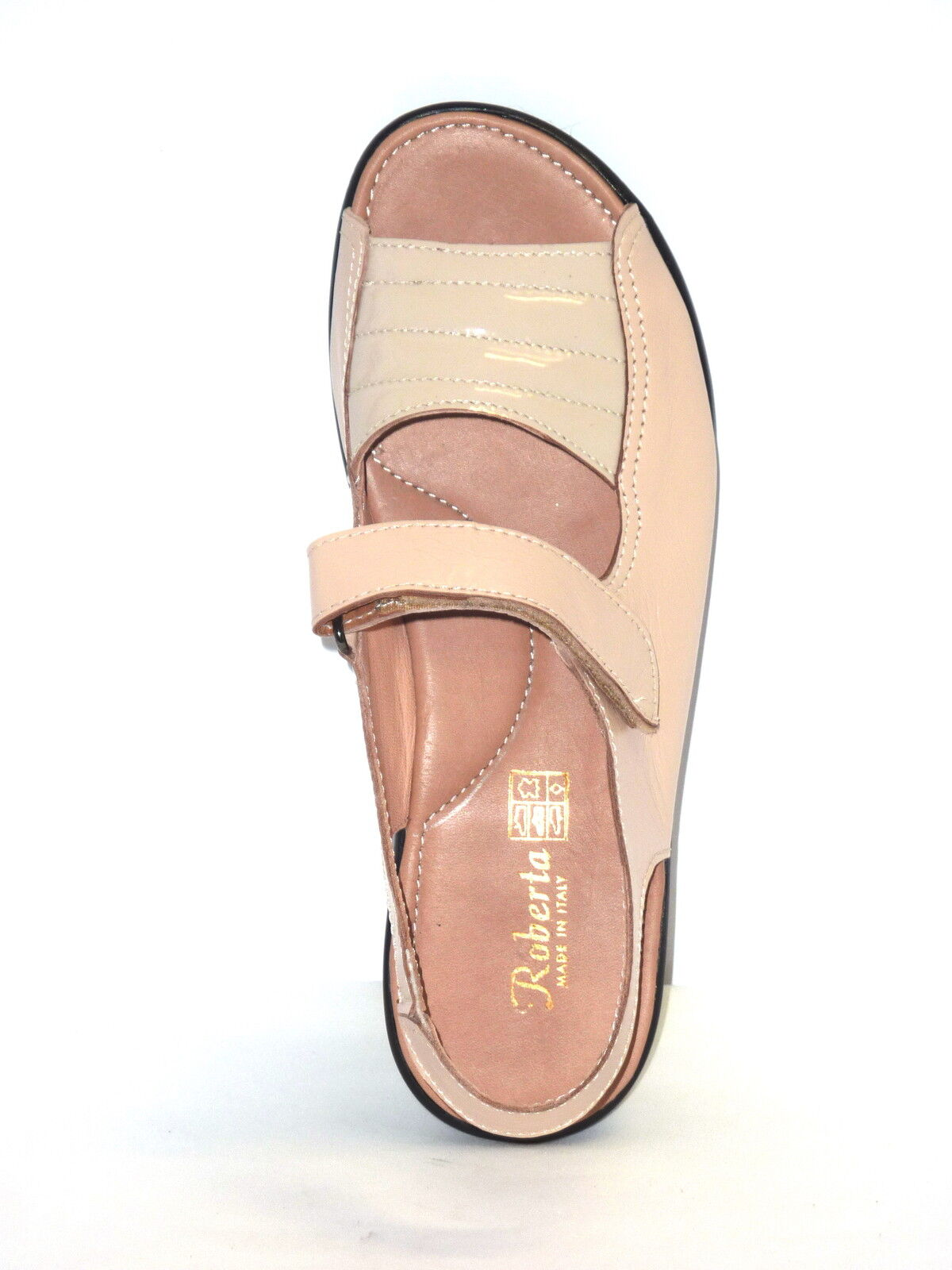 SANDALI Damens COMFORT IN PELLE  made BEIGE ANATOMICO n. 39 made  in italy 8d67b7