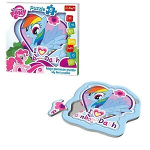 My Little Pony Baby Fun Puzzle Rainbow dash Kinder Formen Puzzle 8 Teile NEU NEW