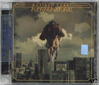 GUSTAVO CERATI FUERZA NATURAL SEALED CD NEW