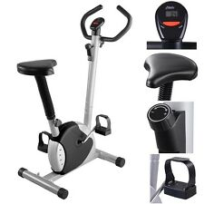 Exercise Bike Fintess Cycling Machine Cardio Aerobic Equipment Workout Gym Black