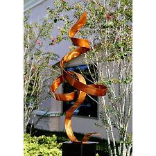 Modern Metal Sculpture Abstract Art  - Copper Perfect Moment by Artist Jon Allen