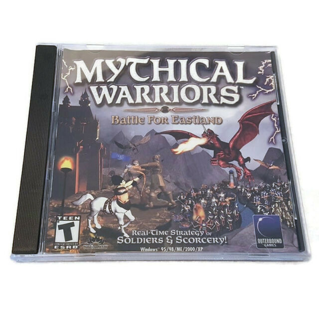 Mythical Warriors Battle For Eastland PC CD-ROM Game 2001 RTS Win 98/XP+