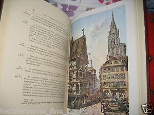 034-Strasbourg-Historique-et-Pittoresque-034-SEYBOTH-2-vol-reed-1971-belles-aquarelles