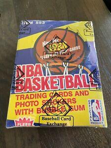 1988 Fleer NBA BASKETBALL WAX BOX 36 CT. Packs - BBCE Sealed - Michael Jordan