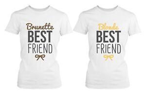 1d338b85 Best Friend Shirts - Blonde and Brunette Best Friends Matching BFF ...