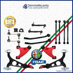 KIT BRACCI ANTERIORI + POSTERIORI RINFORZATI FRAP ALFA ROMEO 147 - 156 - GT