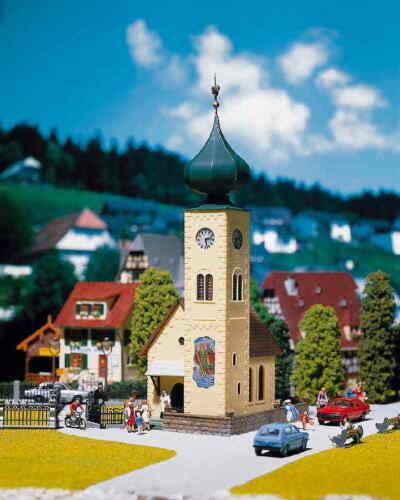 Faller h0 130238 iglesia m tejados nuevo//en el embalaje original 3 dif