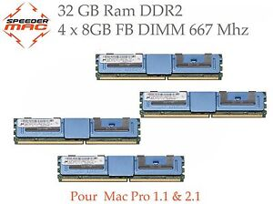 Kit-Memoire-32-GB-4x-8GB-DDR2-667MHz-FBDIMM-pour-Mac-Pro-3-1-Early-2008
