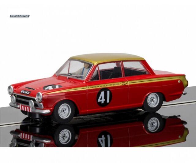 Scalextric 1:32 Ford Cortina #41 Alan Mann Rac. HD C3870