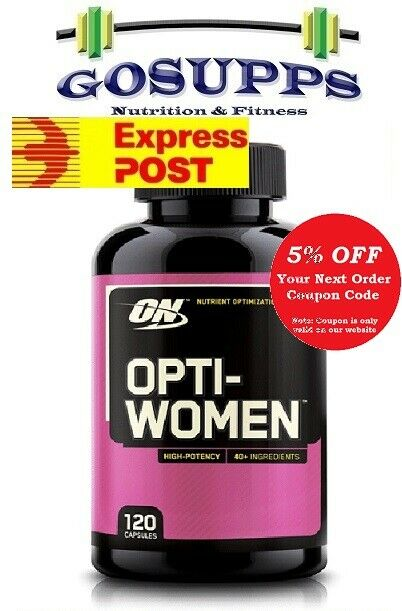 ON Optimum Nutrition OPTI-WOMEN 120 Capsules Multivitamin OptiWomen FREE EXPRESS