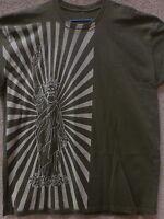 187 Inc Men T-shirt avenue Liberty -- Color Green