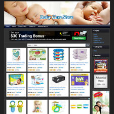 New Listingbaby Care Store Online Business Website For Sale Make Money Amazon Amp Clickbank