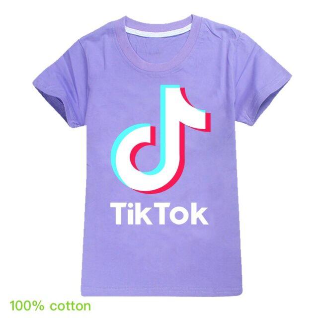 Tik tok Jungen Mädchen Kurzarm T-shirt Shirts Kinder Sommer Oberteil Gr 104-164