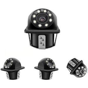 8LEDS-Nachtlicht-Auto-Rueckfahrkamera-Hinten-Autokamera-Wasserdicht-Auto-Kamera