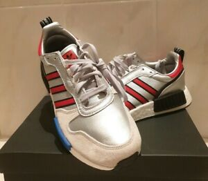 Details zu adidas Originals Rising StarxR1 Schuh Herren Sneakers Silber Freizeit