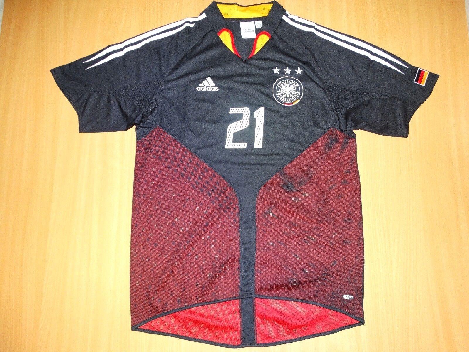 MINT Deutschland GERMANY  21 LAHM 2004 2005 THIRD  HOME TRIKOT SHIRT M