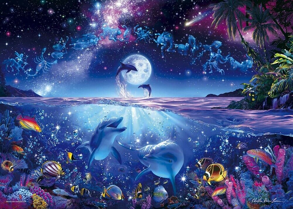 Nouveau 3000 Piece Jigsaw Puzzle Lassen wish upon a star F S du Japon