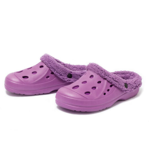 Damen Winterclogs Gr.37-41Fell Clogs Hausschuhe Gartenschuhe Schuhe