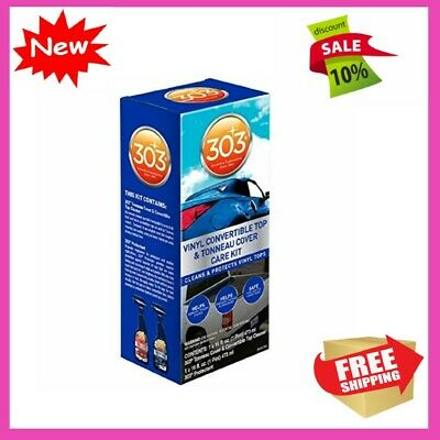 Auto Car 303 Vinyl Convertible Top Cleaner Protectant Kit