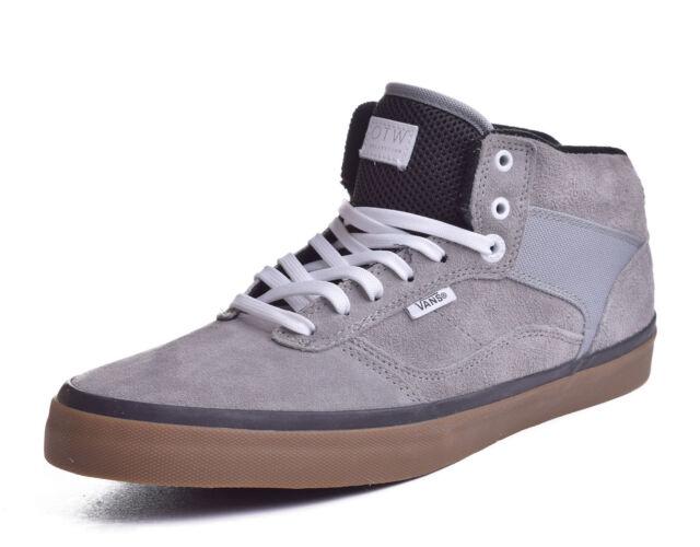 15e2738a1de7d VANS Bedford Mens 6.5 Womens 8 OTW Poly Grey Gray Suede Gum Shoes ...