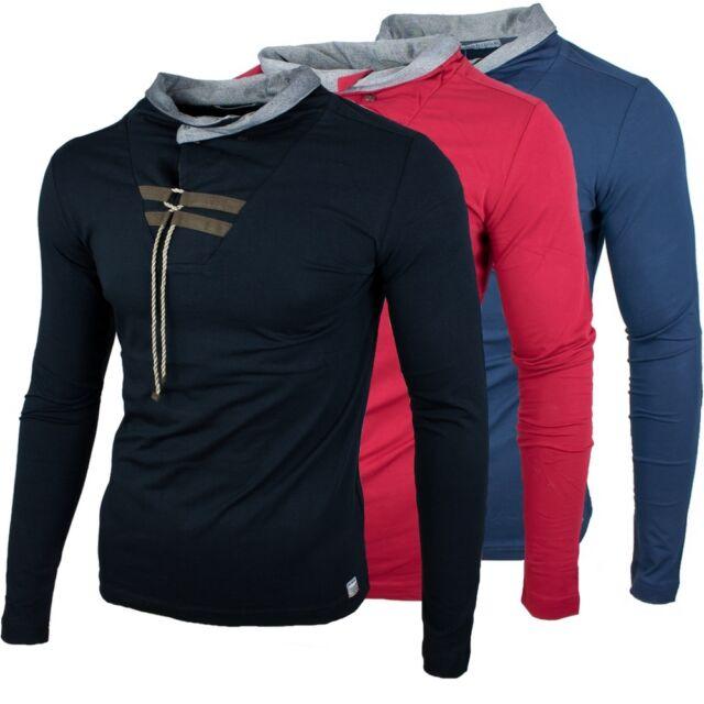 RBC Redbridge by Cipo & Baxx Longsleeve Stehkragenn Pullover Hoodie Sweatshirt