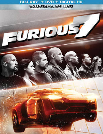 Furious 7 Blu Ray Dvd Includes Digital Copy Steelbook Only Best Buy For Sale Online Ebay