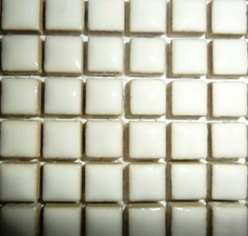 Sheet Various Colours 10mm Glazed Ceramic Mosaic tiles for arts and crafts
