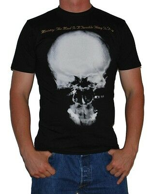 """Ministry """"The Mind Is A Terrible Thing"""" T-Shirt - FREE SHIPPING"""