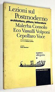 LEZIONI-SUL-POSTMODERNO-QUADERNI-DI-ALLEGORIA-n-2-1997-Palumbo-ARTE