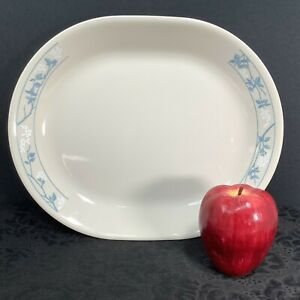 Corning Ware Corelle Oval Serving Platter Plate Meat Tray FIRST OF SPRING 12x10
