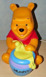 Winnie Pooh Lampe Honigtopf Puuh Nachtlicht 3D Leuchte Figur ...