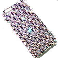 """For iPhone 7 Plus (5.5"""") 16ss CRYSTAL AB Bling Back Case made w/Swarovski"""